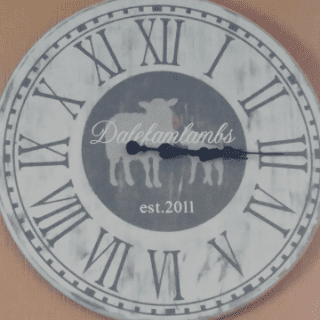 meat logo clock Dalefamlambs Kemptville Ulocal local product local purchase