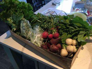 Fermier de famille panier de légumes Ferme Coop BeetBox Nepean Ulocal produit local achat local