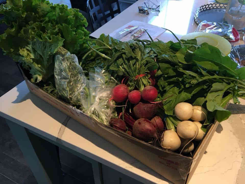 Family Farmer Vegetable Basket Coop Farm BeetBox Nepean Ulocal Local Product Local Purchase