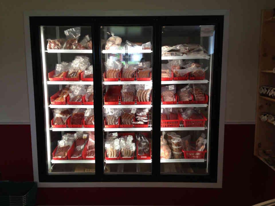 Boucherie viande de boeuf nourri à l'herbe Ferme Brylee Thurso Ulocal produit local achat local