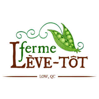Family farmer logo Ferme Lève-tôt Low Ulocal local product local purchase