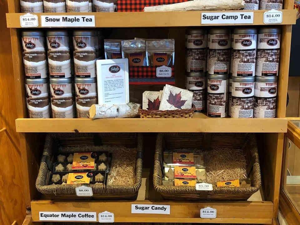 Sugar shack maple products Fulton's Pancake House Pakenham Ulocal local product local purchase