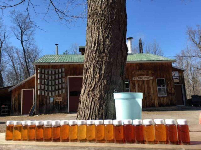 Cabane à sucre sirop d'érable Fulton's Pancake House Pakenham Ulocal produit local achat local