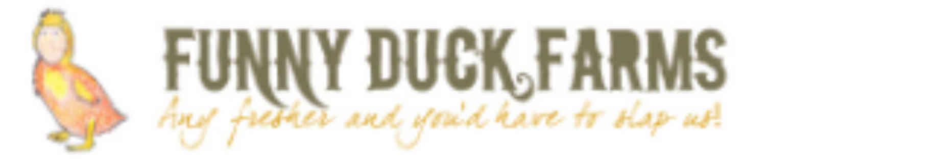Fermier de famille logo Funny Duck Farms Jasper Ulocal produit local achat local