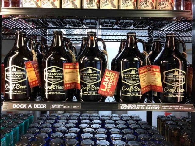 Microbrasserie bières Lake of the Woods Brewing Co Kenora Ulocal produit local achat local