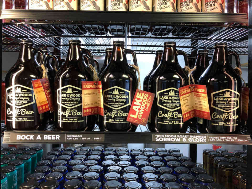 Microbrewery beers Lake of the Woods Brewing Co Kenora Ulocal local product local purchase