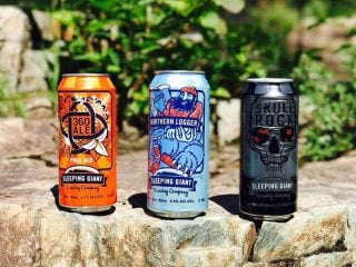 Microbrasserie bières Sleeping Giant Brewing Company Thunder Bay Ulocal produit local achat local