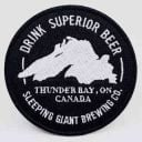 Microbrasserie logo Sleeping Giant Brewing Company Thunder Bay Ulocal produit local achat local