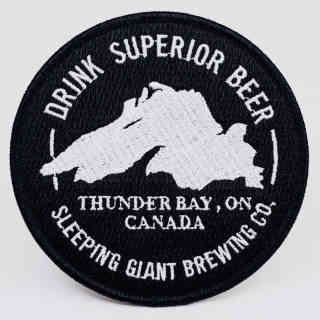 Microbrewery logo Sleeping Giant Brewing Company Thunder Bay Ulocal local product local purchase