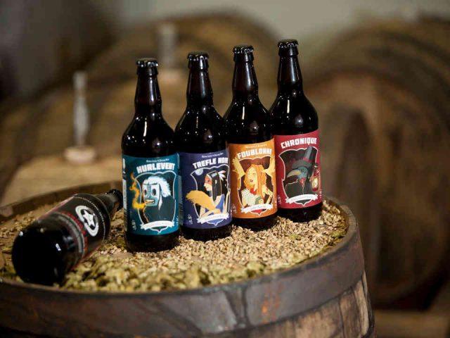 Microbrasserie bière Trèfle Noir Rouyn-Noranda Ulocal produit local achat local