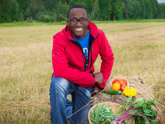 Alimentation fermiers de famille fruits et légumes biologiques Au Jardin d'Edem East Farnham Ulocal produit local achat local