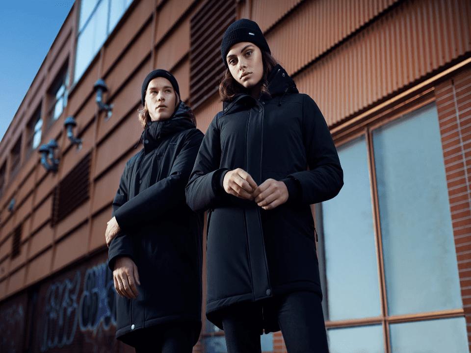 Vêtements manteau hiver homme femme Audvik Montréal Ulocal produit local achat local