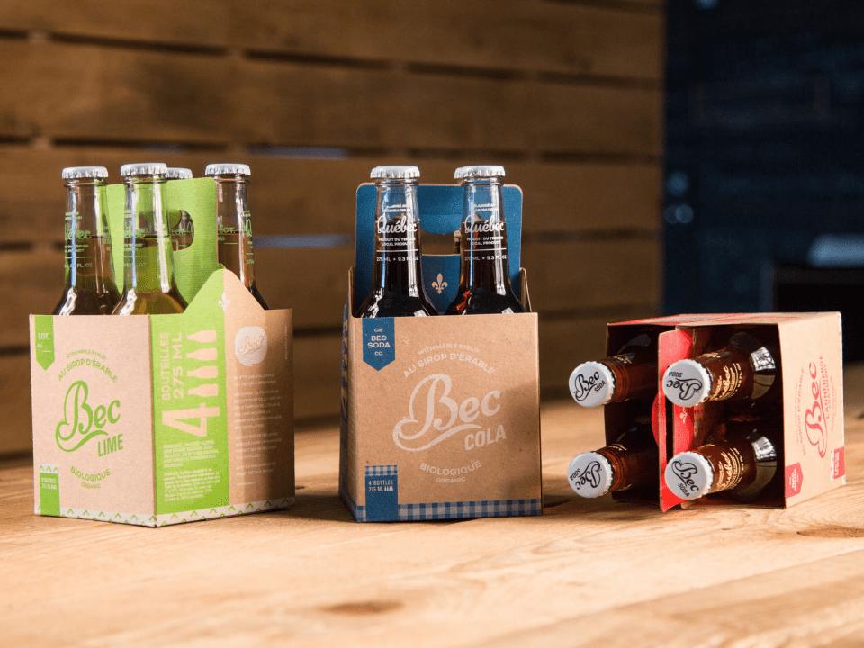 Boisson Alimentation Breuvages biologique Bec Soda Inc. Montréal Ulocal produit local achat local