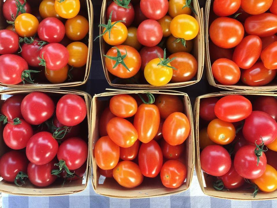 public market tomatoes Carp Farmers Market Carp Ulocal local product local purchase