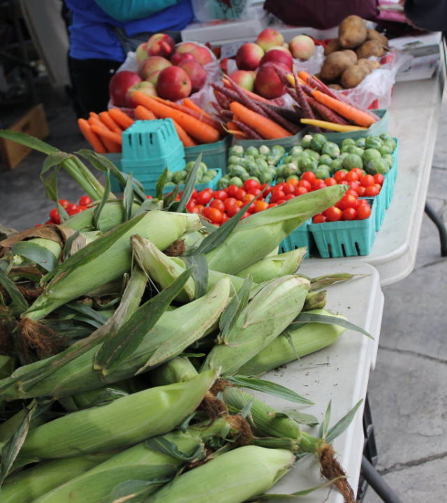 farmers market corn tomatoes Chesterville Farmers Market Chesterville Ulocal local product local purchase