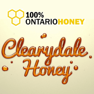 beekeeper logo Clearydale Honey Spencerville Ulocal local product local purchase