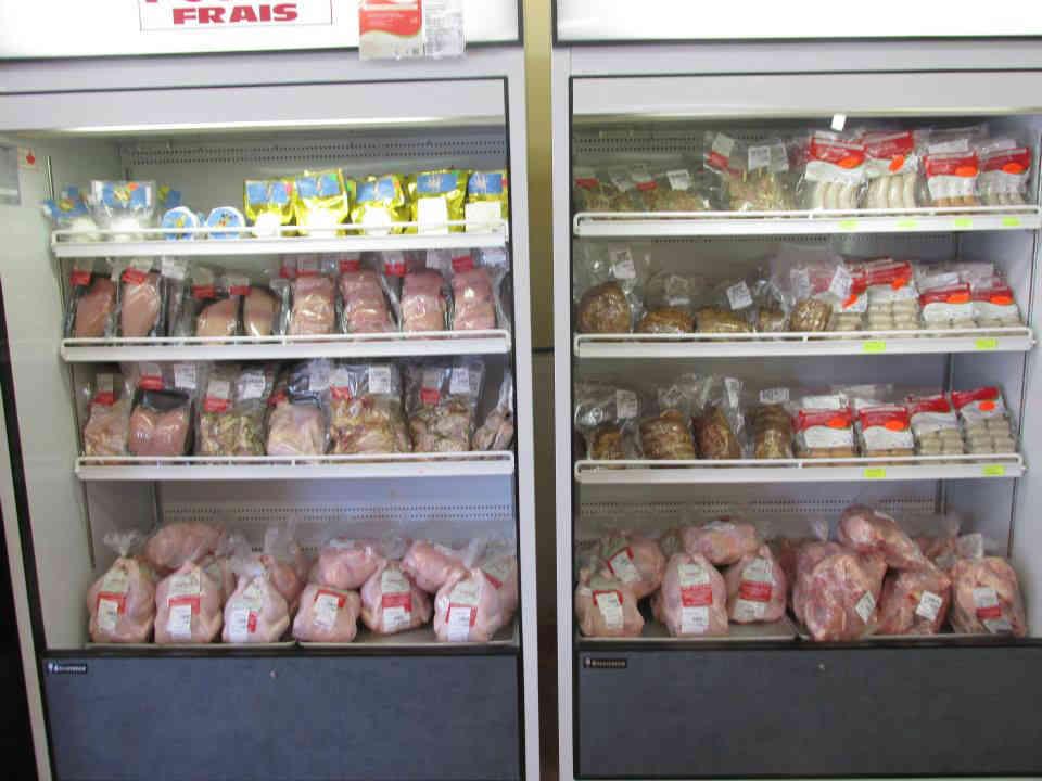 vente de viande poulets surgelés Ferme aux saveurs des monts Val-des-monts Ulocal produit local achat local