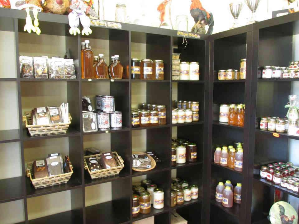 vente de viande boutique miel sirop d'érable Ferme aux saveurs des monts Val-des-monts Ulocal produit local achat local