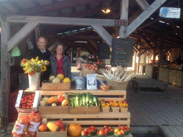 Fermiers de famille fruits et légumes bio paniers bio Les Jardins du Lac Béthanie Ulocal produit local achat local