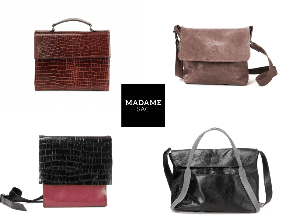 Jewelry and accessories handmade leather bags Madame Sac Montreal Ulocal local product local purchase