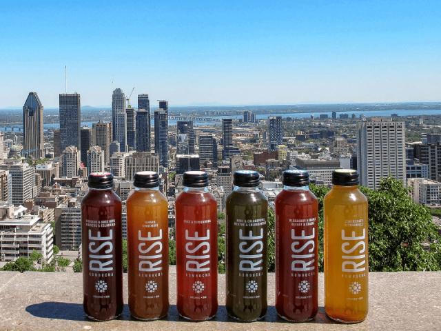 Alimentation boisson base de thé naturels biologiques Rise Kombucha Montréal Ulocal produit local achat local