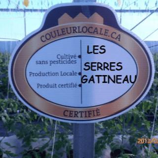 marché fruits légumes logo Les Serres Gatineau Gatineau Ulocal produit local achat local