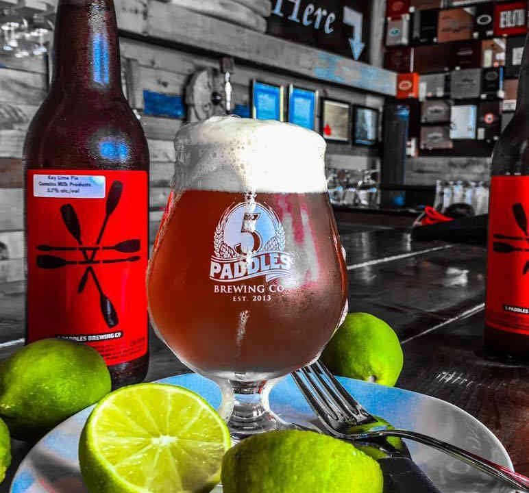 Microbrewery glass beer lime 5 Paddles Brewing Company Whitby Ulocal local product local purchase