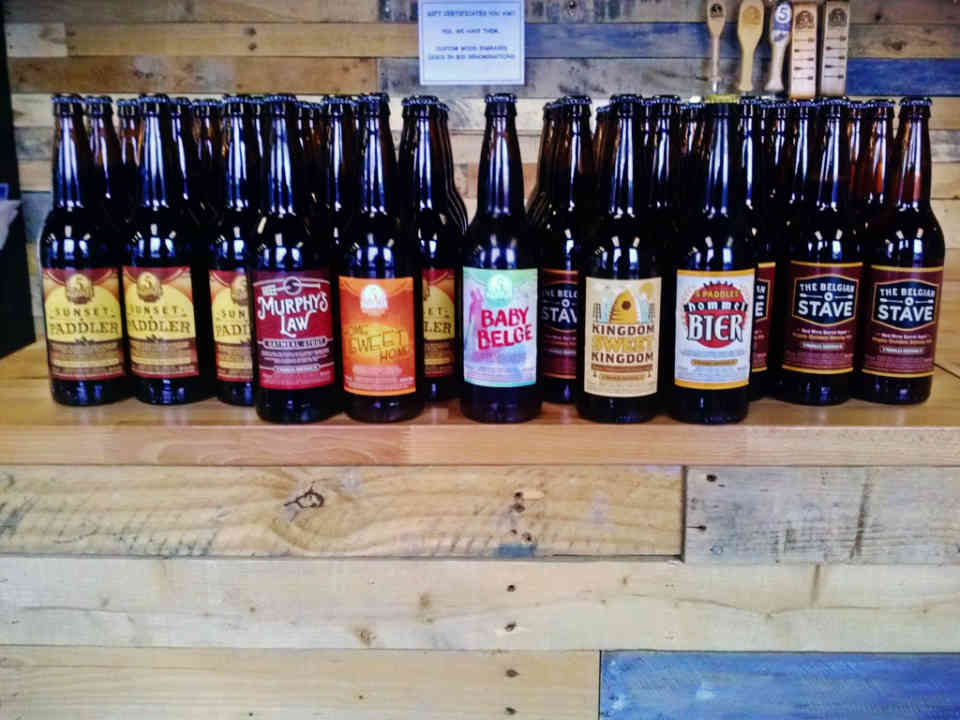 Microbrewery beer bottles 5 Paddles Brewing Company Whitby Ulocal local product local purchase