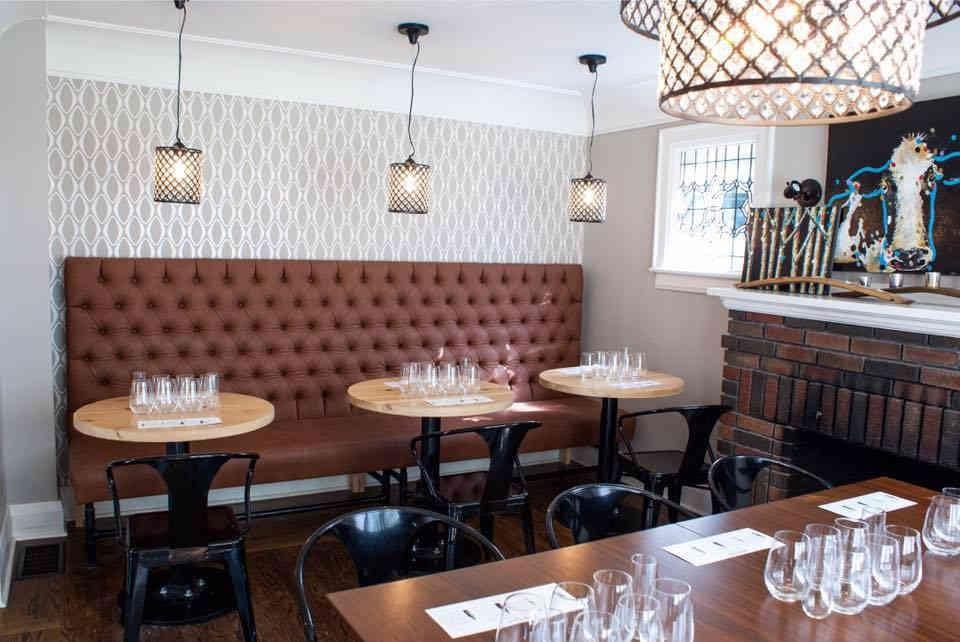 Vignoble salle de dégustation Back 10 Cellars Lincoln Ulocal produit local achat local