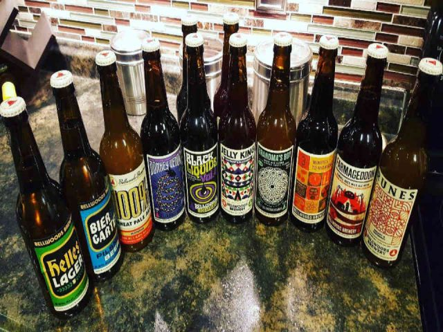 Microbrasserie bouteilles bière Bellwoods Brewery Toronto Ulocal produit local achat local