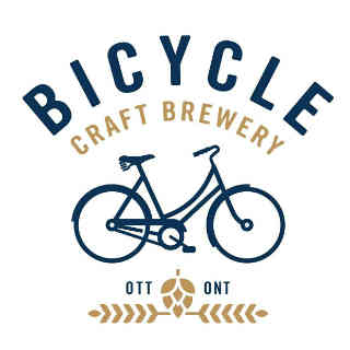 Microbrasserie logo Bicycle Craft Brewery Ottawa Ulocal produit local achat local