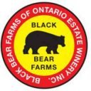 Vignoble logo Black Bear Farms of Ontario Estate Winery Kingsville Ulocal produit local achat local