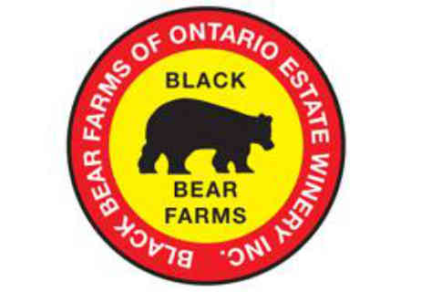 Vineyard logo Black Bear Farms of Ontario Estate Winery Kingsville Ulocal Local Product Local Purchase