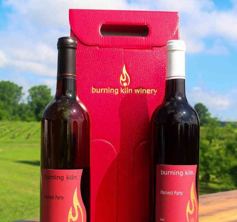 Vineyard Wine Bottle Burning Kiln Winery St. Williams Ulocal Local Product Local Purchase