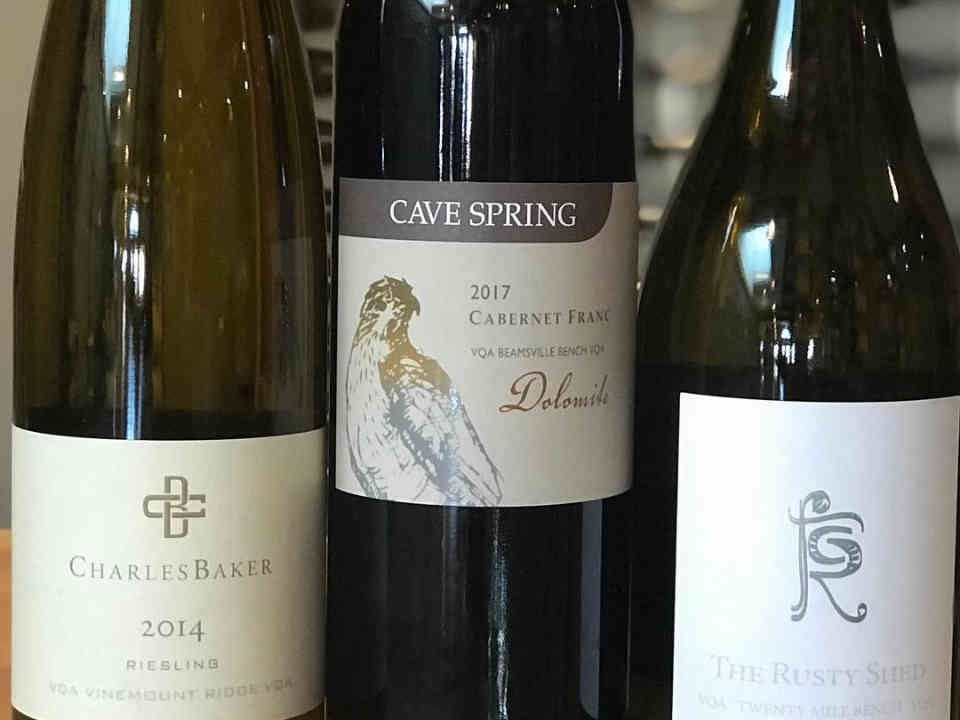 Vignoble bouteilles de vin Cave Spring Cellars Lincoln Ulocal produit local achat local