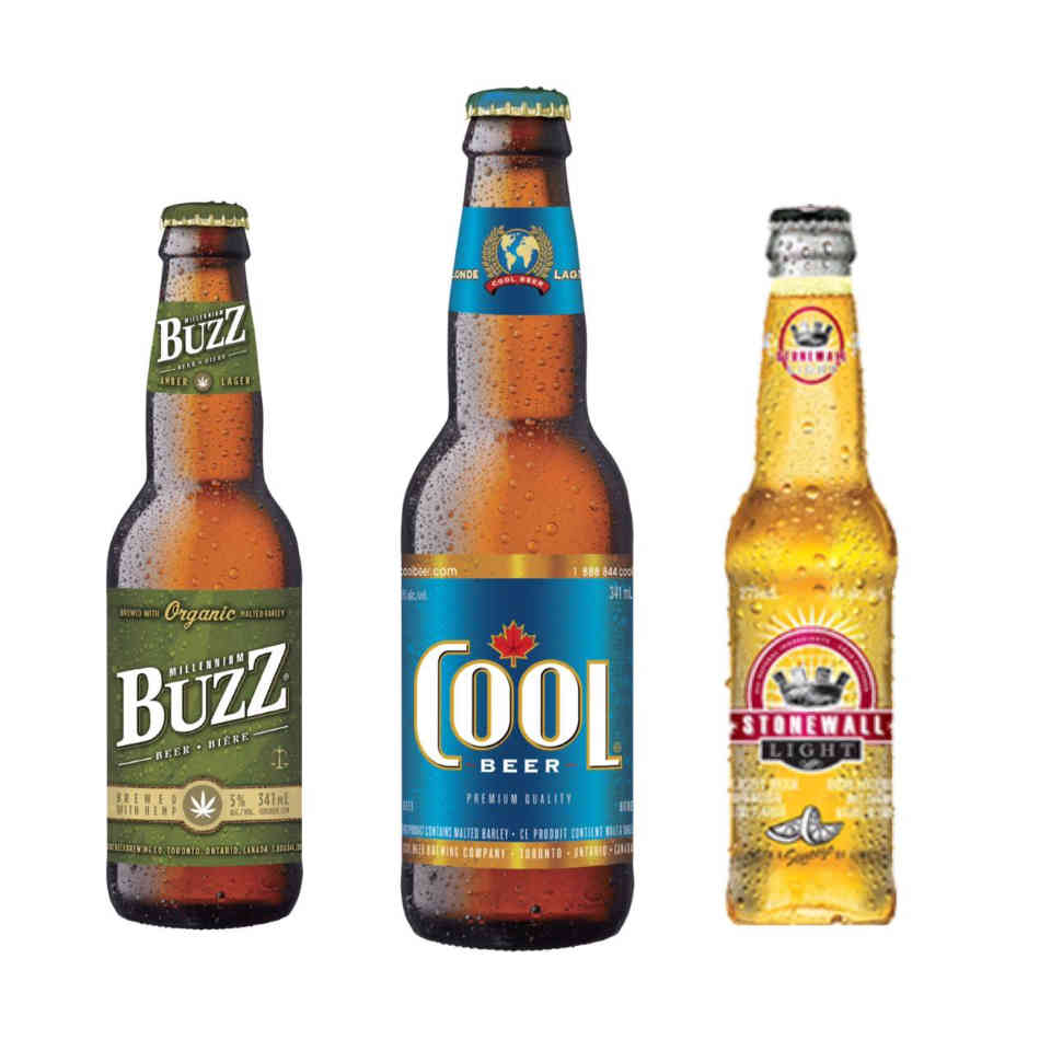 Microbrewery beer bottles Cool Beer Brewing Company Toronto Ulocal local product local purchase