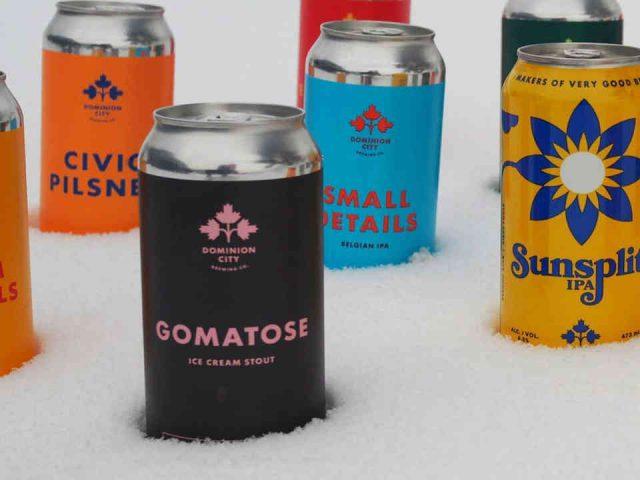 Microbrasserie Cannettes bière Dominion City Brewing Company Ottawa Ulocal produit local achat local