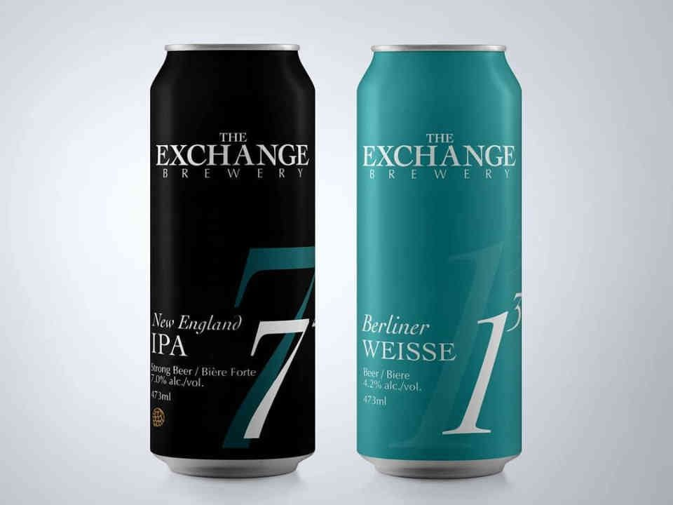 Microbrewery beer cans The Exchange Brewery Niagara-on-the-Lake Ulocal Local Product Local Purchase