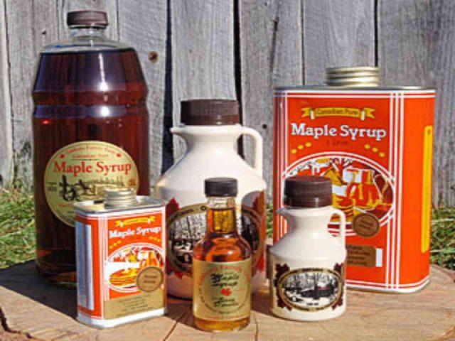 Cabane à sucre sirop d'érable Gibbons Family Farm Maple Sugar House Frankville Ulocal produit local achat local