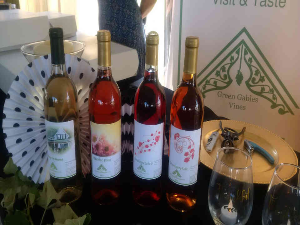 Vineyard vine bottles Green Gables Vines Oxfrod Station Ulocal local product local purchase