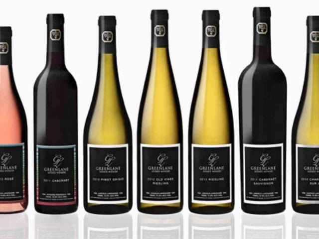 Vignoble bouteilles de vin Greenlane Estate Winery Lincoln Ulocal produit local achat local