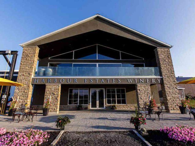 Vignoble vignoble Harbour Estates Winery Lincoln Ontario Canada Ulocal produit local achat local