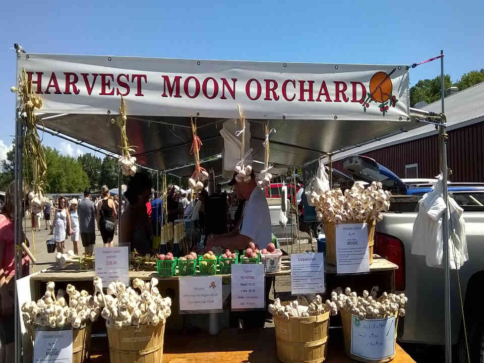 Produce Market Kiosk Harvest Moon Orchard Ottawa Ulocal Local Product Local Purchase