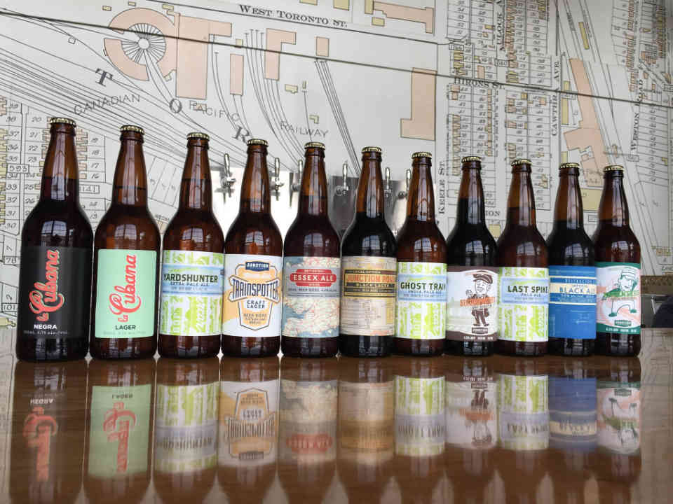 Microbrewery Beer bottles Junction Craft Brewing Toronto Ulocal Local Product Local Purchase