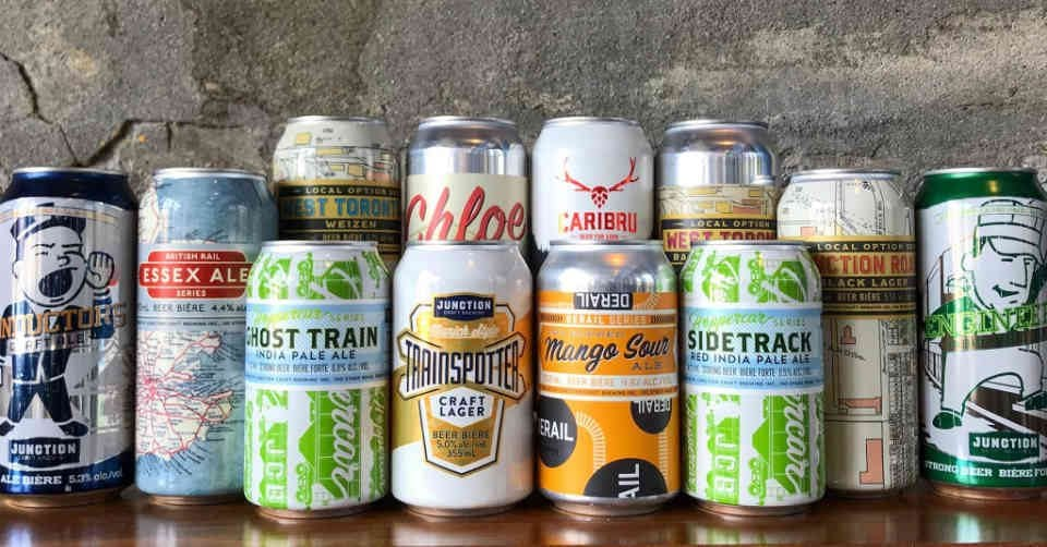 Microbrasserie cannettes bière Junction Craft Brewing Toronto Ulocal produit local achat local