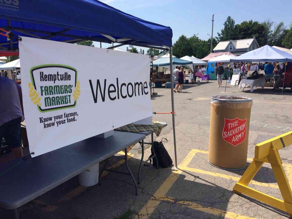 Marché public kiosques Kemptville Farmers' market Kemptville Ulocal produit local achat local