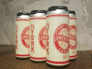 Microbrasserie cannettes bière Lowertown Brewery Ottawa Ulocal produit local achat local