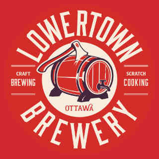 Microbrewery logo Lowertown Brewery Ottawa Ulocal local product local purchase