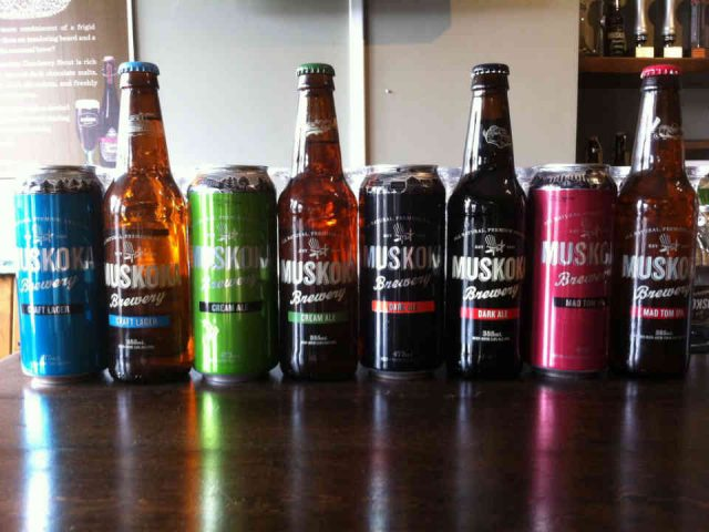 Microbrasserie bières Muskoka Brewery Gravenhurst Ulocal produit local achat local
