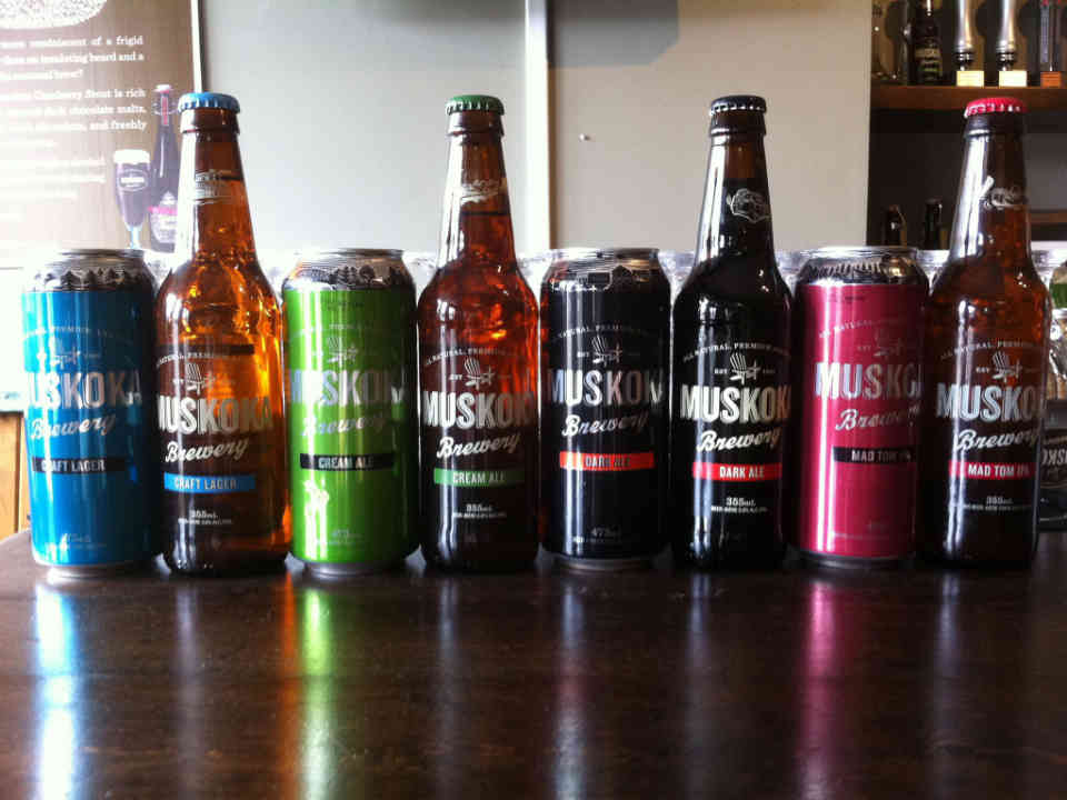 Microbrewery beers Muskoka Brewery Gravenhurst Ulocal local product local purchase